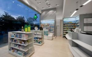 Φαρμακείο Παπαδοπούλου σχεδιασμός-μελέτη-εργονομία-εξοπλισμός φαρμακείου