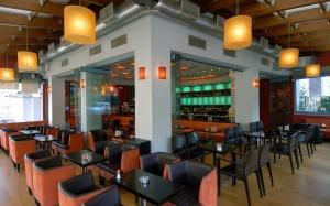 Avenue cafe σχεδιασμος χώρου και επιπλα