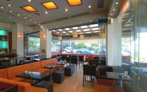 Avenue cafe interior design and furniture