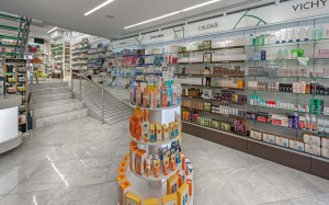 Zervos Pharmacy interior design-construction-renovation