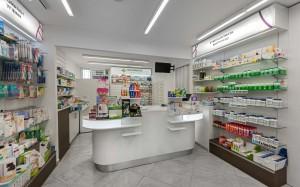Φαρμακείο Ζερβός ταμεία-συρταριέρα-έπιπλα