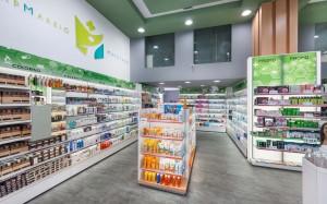 Φαρμακείο Μαραγκός-Λ.Αλεξάνδρας σχεδιασμός-εσωτερικό φαρμακείου