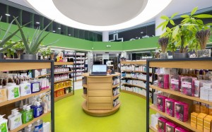 Katsaris Pharmacy design-custom made furniture