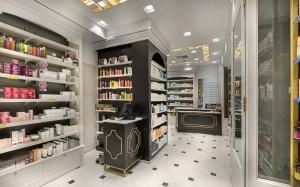 Φαρμακείο Μαραγκός-Στοά Νικολούδη εξοπλισμός-ράφια-έπιπλα φαρμακείου