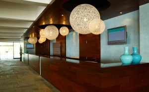 Club Med Gregolimano reception area