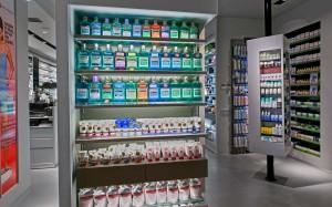 Φαρμακείο Σακόπουλος έπιπλα-ράφια-εξοπλισμός φαρμακείου