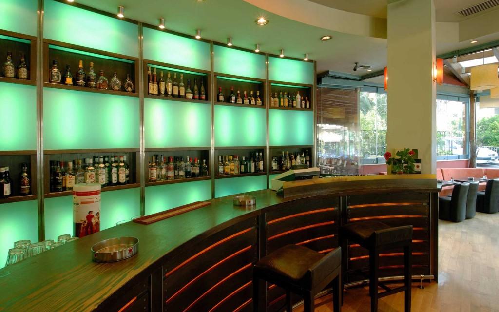 Avenue cafe φωτιζόμενο μπαρ