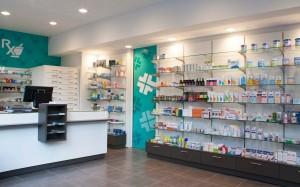 Φαρμακείο Ριζάς εξοπλισμός-συρταριέρα φαρμακείου