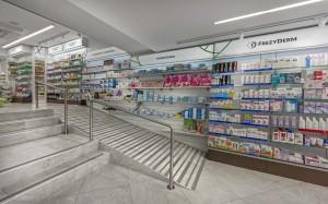 Φαρμακείο Ζερβός εξοπλισμός-ράφια-έπιπλα φαρμακείου