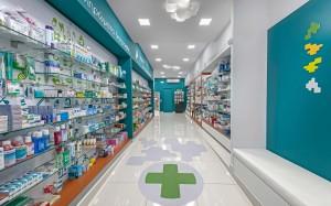 Φαρμακείο Ρασσιά εξοπλισμός-ράφια-έπιπλα φαρμακείου