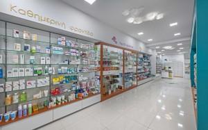 Φαρμακείο Ρασσιά εργονομία-σχεδιασμός φαρμακείου