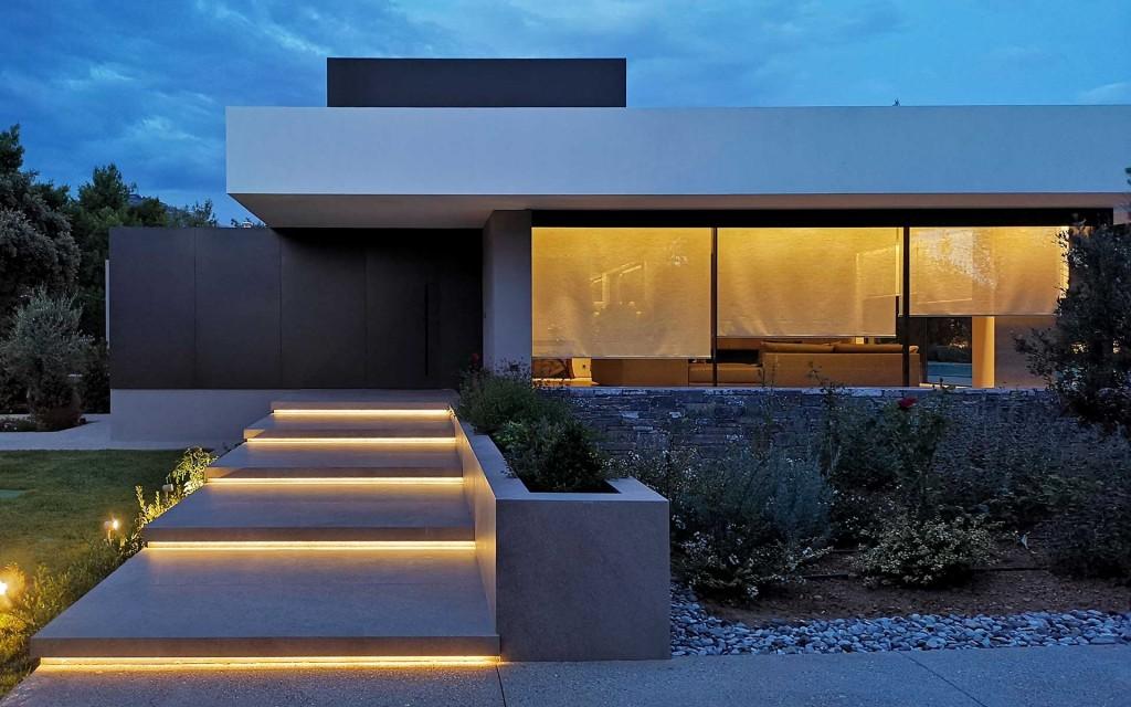 Κατοικία Κηφισιά κατασκευή-εξωτερική όψη κατοικίας